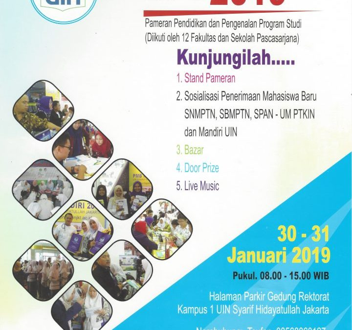 UIN EDU EXPO 2019